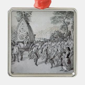 May Day at Bowdon, Cheshire Christmas Ornament