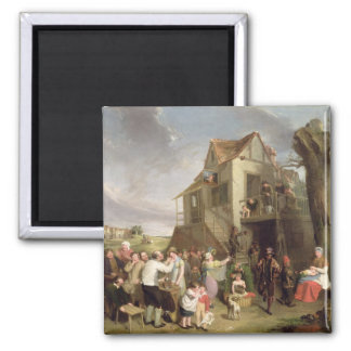 May Day, c.1811-12 (oil on canvas) 2 Inch Square Magnet