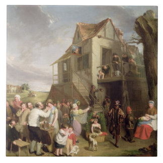 May Day, c.1811-12 (oil on canvas) Ceramic Tile