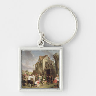 May Day, c.1811-12 (oil on canvas) Keychain
