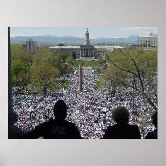 May Day in Denver Print