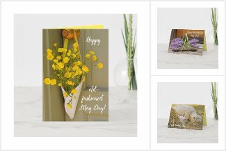 May Day, Springtime & Mother's Day Country Cards