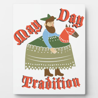 May Day Tradition Plaque