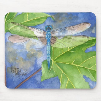 May Dragonfly Mouse Pad