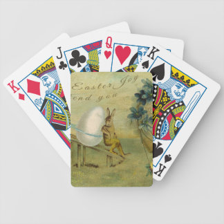 May Easter Joy Attend You Bicycle Playing Cards