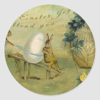 May Easter Joy Attend You Sticker