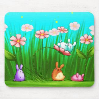 May Flower Fun Mousepad