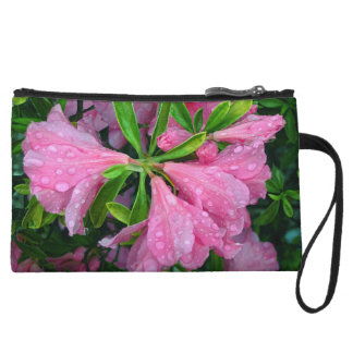 May Flowers Wristlet Clutches