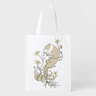 May Flowers Reusable Grocery Bag