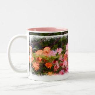 May Garden Two-Tone Coffee Mug