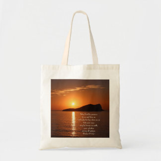 May God be Gracious to Us and Bless Us Psalm 67 Tote Bag