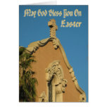May God  Bless You on Easter Card