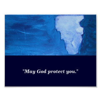 MAY GOD PROTECT YOU POSTER