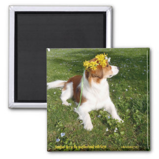 May Gryns! 2 Inch Square Magnet