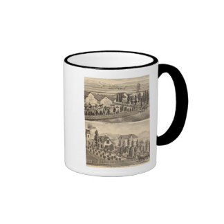 May, Horton residences, farm Coffee Mug