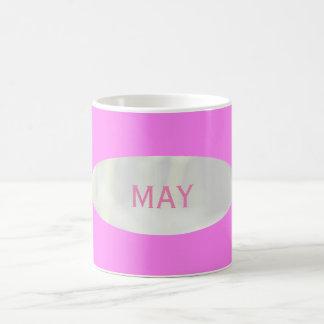 May Hot Pink Coffee Mug by Janz