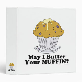 may i butter your muffin 3 ring binder