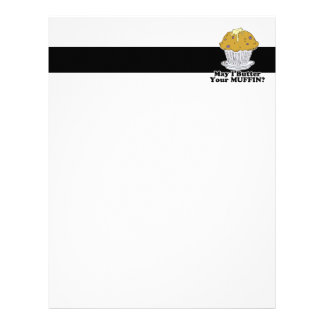 may i butter your muffin letterhead