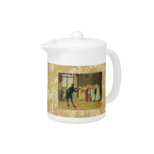 May I Have This Dance? Teapot at Zazzle