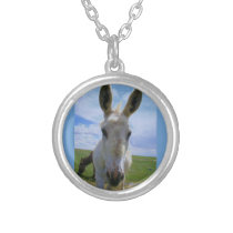 May I Help You Silver Plated Necklace