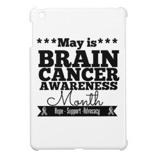 May is Brain Cancer Awareness Month iPad Mini Cases