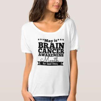 May is Brain Cancer Awareness Month Tee Shirt