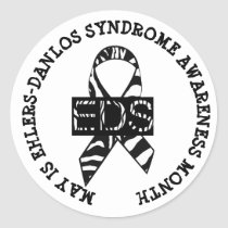 May is Ehlers-Danlos syndrome Month Stickers