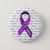 May is Fibromyalgia Awareness Month Button