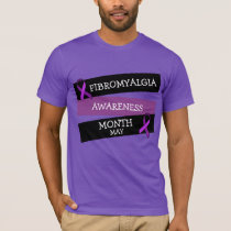 May is Fibromyalgia Awareness Month Ribbon Shirt
