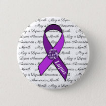 May is Lupus Awareness Month Button