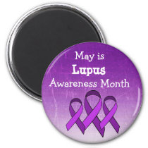 May is Lupus Awareness Month Magnet