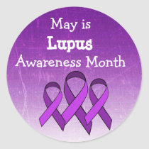 May is Lupus Awareness Stickers