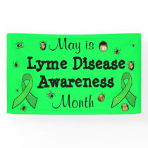May is Lyme Disease Awareness Month Banner