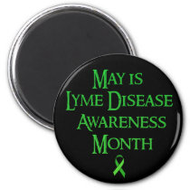 May is Lyme Disease Awareness Month Magnet