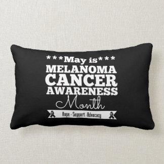 May is Melanoma Awareness Month Pillows