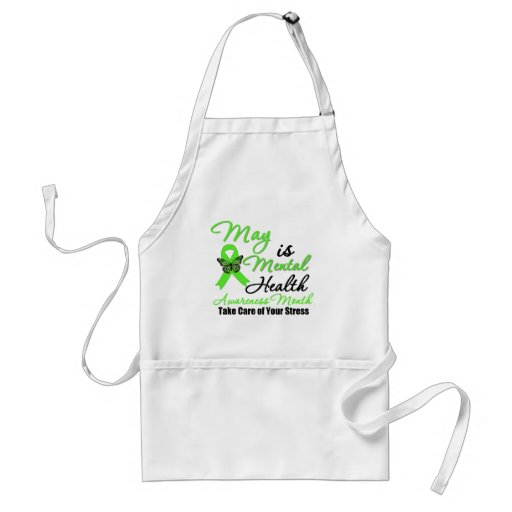 May is Mental Health Awareness Month Apron