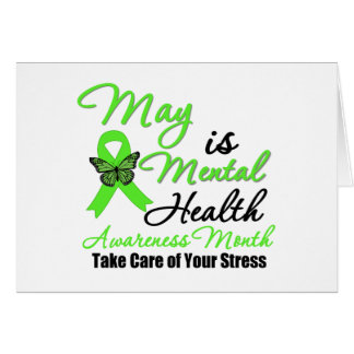 May is Mental Health Awareness Month Card