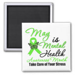 May is Mental Health Awareness Month Refrigerator Magnets