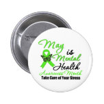 May is Mental Health Awareness Month Pins