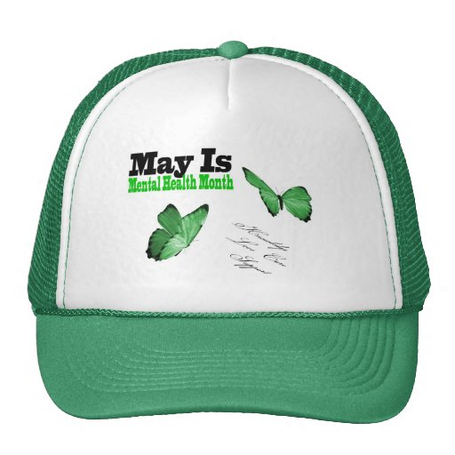 May is mental Health month hat