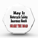 May Is Motorcycle Safety Awareness Month SHARE THE Award