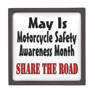 May Is Motorcycle Safety Awareness Month SHARE THE Jewelry Box