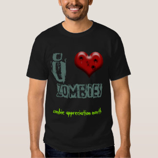 may is zombie appreciation month tees