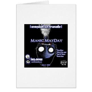 May - Manic MayDay Card