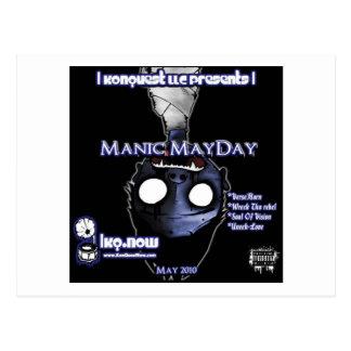 May - Manic MayDay Post Card