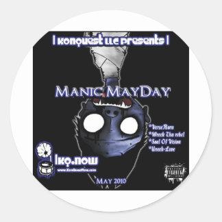 May - Manic MayDay Stickers