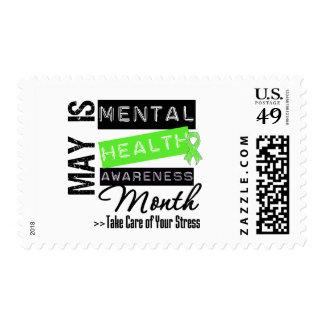 May - Mental Health Awareness Month Stamp