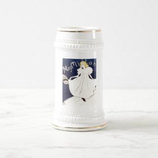May Milton 1895 Henri de Toulouse-Lautrec Beer Stein