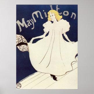May Milton 1895 Henri de Toulouse-Lautrec Poster