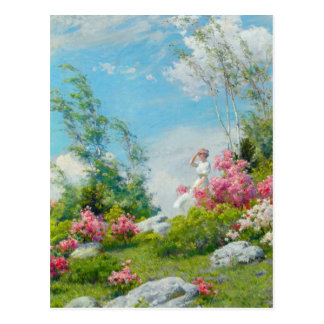 May Morning by Charles Courtney Curran Postcard